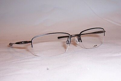 NEW OAKLEY EYEGLASSES CLUBFACE OX 3102 3102-03 PEWTER 52mm RX AUTHENTIC 310203