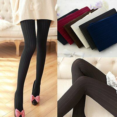 Womens Winter Thick Pantyhose Cotton Warm Long Socks Footed Tights Stockings