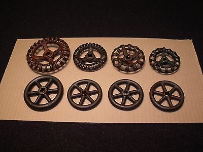 Vintage Cast Iron Water Faucet Handle Hose Knobs Lot Industrial Steampunk