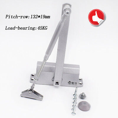 T90 25-45KG Aluminum Commercial Door Closer Two Independent Valve Control Sweep