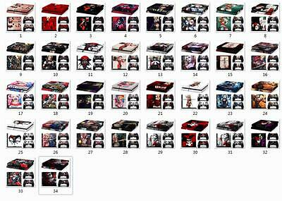 Harleen Quinzel Harley Quinn PS4 Sticker Vinly Skin + 2 PS4 controller stickers