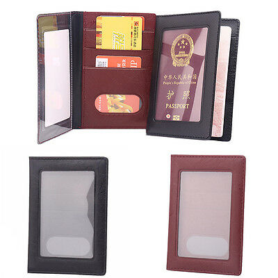 Russia Passport Cover Clear Card ID Holder Case for Travelling passport bags