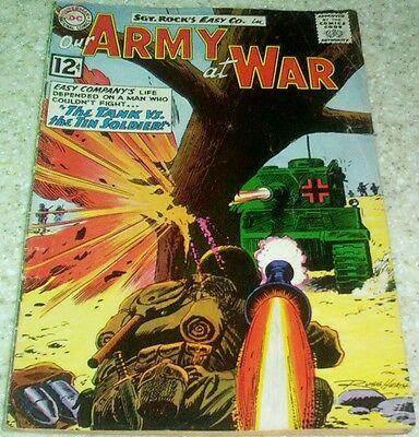 Our Army at War 118, (VG/FN 5.0) 1962, HEATH ART! 50% off Guide!