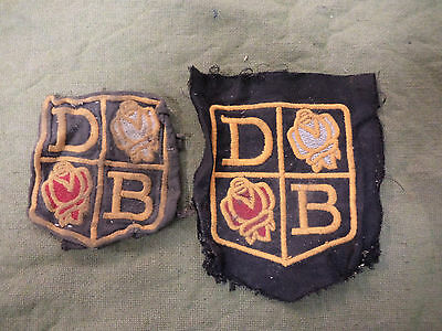 #d71. Two  Old  Australian  Rowing  Club Cloth Patches