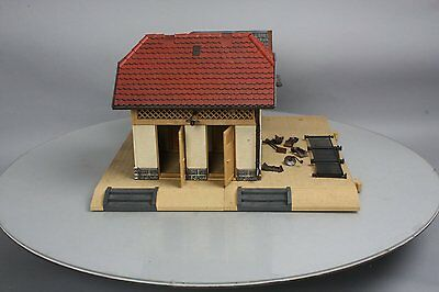 Pola 330903 G Schonweiler Outhouse w/Base & Small Cottage