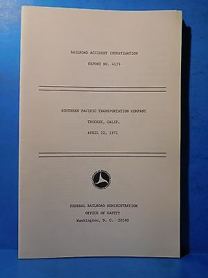 Railroad Accident Investigation Report #4179 Southern Pacific Transportation Co