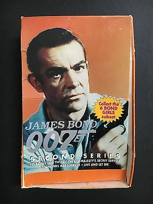 James Bond Trading Card Empty Box 2Nd Series From 1993