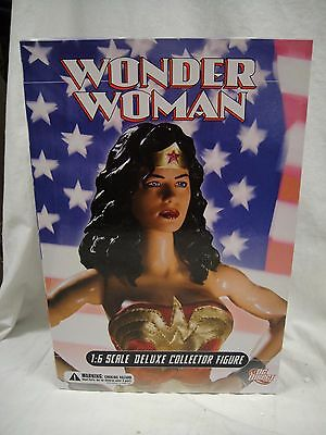"""DC DIRECT WONDER WOMAN DELUXE COLLECTOR FIGURE 13"""" 1/6 Scale Girl JLA Statue"""