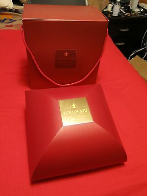Louis XIII Remy Martin Grande Champagne Cognac Baccarat Crystal Decanter & Box