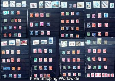Used Stamp Collection From France & Monaco - Free Worldwide Shipping