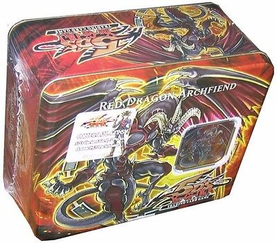 Yu Gi Oh 5D Trading Card Game Red Dragon Archfiend Collectible Tin 2008