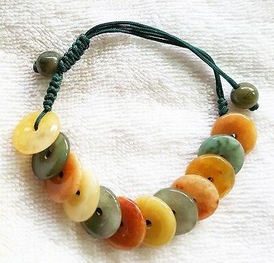 Amulet Bracelet 12Jade Health Successfully Enrich Charm Beauty Adjust Freesize