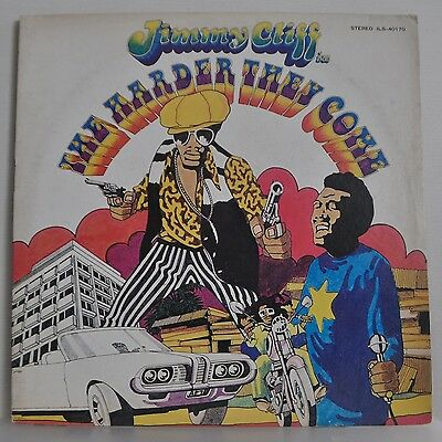 Jimmy Cliff The Harder They Come Soundtrack Japan LP Toshiba ILS-40170 Insert