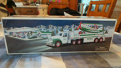 2002 Hess Toy Truck & Airplane Slightly Used With Box