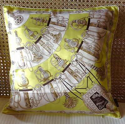 Hermes Inspiration Decorative Throw Pillow Case Cushion