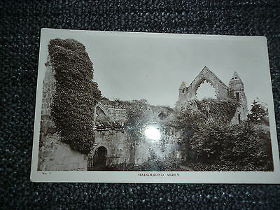 Old Postcard Haughmond Abbey Real Photo