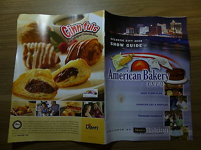 Literature for Bakeries - American Bakery Expo 2008 Atlantic City Floor Plan 58p
