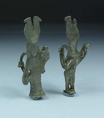 Extremely Rare Roman Silver Earrings 1St/2Nd Ad