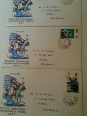 Gb set first day covers from 1967