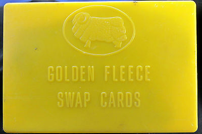 Genuine GOLDEN FLEECE box for collector cards.