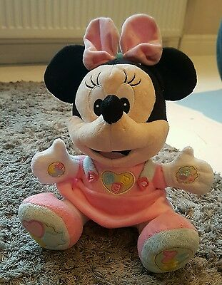Talking And Singing Minnie Mouse Teddy