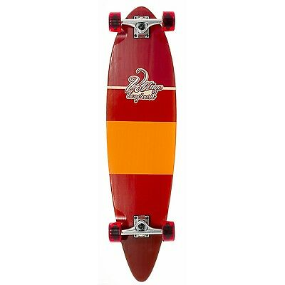 Voltage Stubby Pintail Longboard - Red