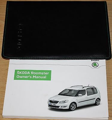 Skoda Roomster Handbook Owners Manual Wallet 2010–2015 Pack 12002