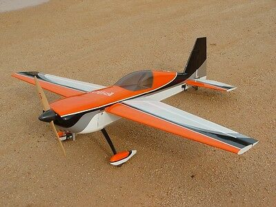 Extra  260  Scratch Build  plans for laser cuting / manual built balsa/plywood