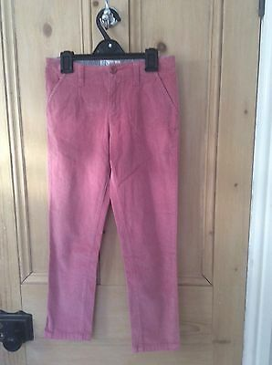 Fat Face Girls Pink Cords / Trousers age 9
