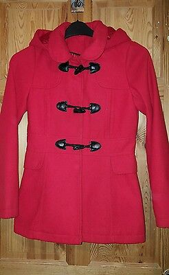girls red coat age 12/13