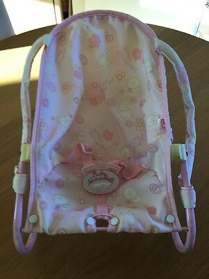 Baby Annabel Chair - Rocking, Reclining - Adjustable, Use As Bed / Cot / Chair /