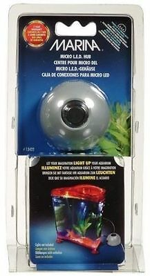 Marina Micro Led Power Hub - Powers 3 Lights Aquarium Fish Tank Nano Lighting