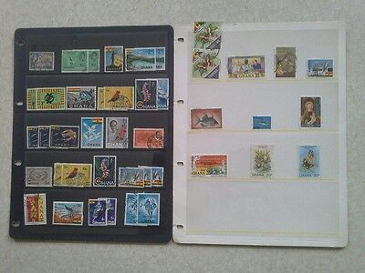 Ghana - Shedload of Stamps Issued After Independence