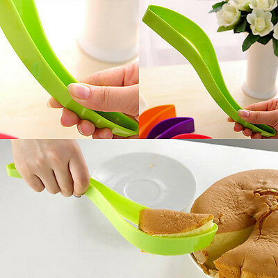 Cake Pie Slicer Guide Cutter Server Bread Slice Knife Kitchen Tool Gadget