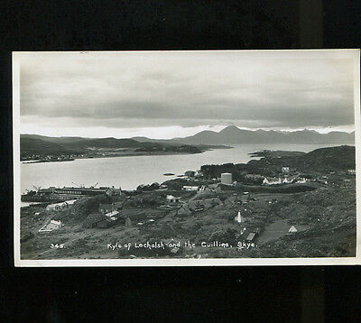 Kyle of Lochalsh and the Cullins RP  Postcard