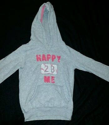 Girls hoodie Jumper Top Age 5 NEXT Excellent Condition
