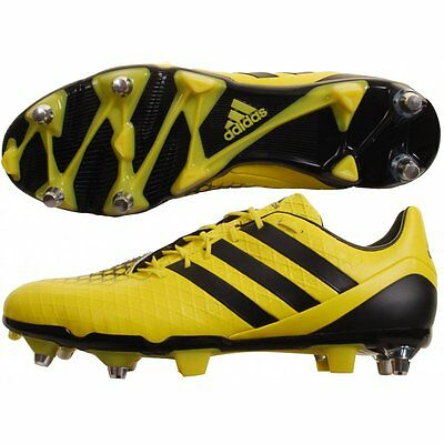 adidas predator incurza Electric Yellow and Black rugby boots SG UK12.5 WC2015