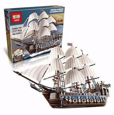 LEPIN 22001 Pirates series The Imperial Flagship 1717pcs (100% analog 10210)