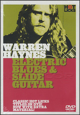 Warren Haynes Electric Blues & Slide Guitar Tuition DVD Learn How To Play