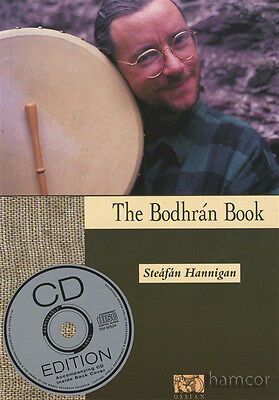 The Bodhran Book with CD by Steafan Hannigan Learn How to Play Bodhrán Method