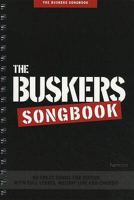 The Buskers Songbook Lyrics Guitar Chord and Melody Line Queen Kinks Radiohead