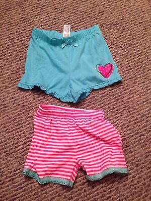 Toddler Girl Shorts Lot Of 2 Size 3t and 24m