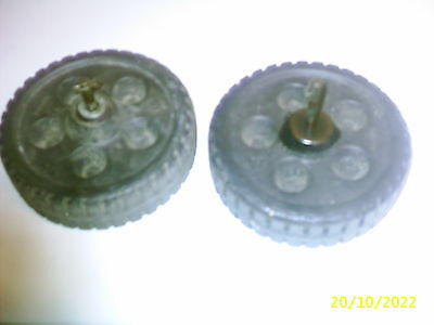 Pair Of Six Inch Wheels