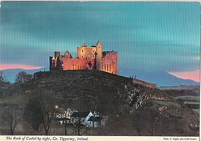 BF12978 the rock of cashel by night tipperary  ireland  front/back image