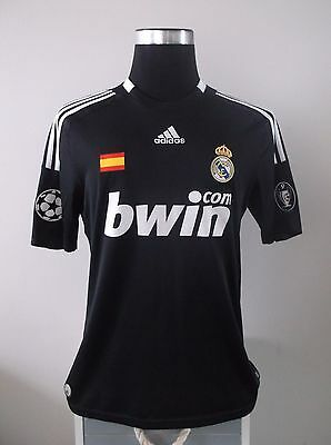 Authentic Real Madrid Third Football Shirt Jersey 2008/09 (M)