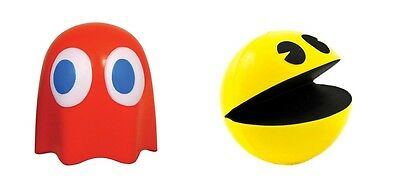 Pac-Man / Ghost Stress Reliever Ball Arcade Retro 80's Executive Toy gift idea