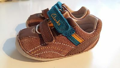 Clarks baby boys shoes - Size 2.5F 1/2