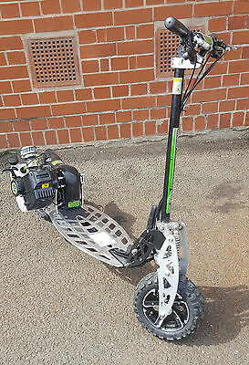 Uber Scoot 50cc Petrol Scooter Big Wheel Off Road Powerboard Ref 1H