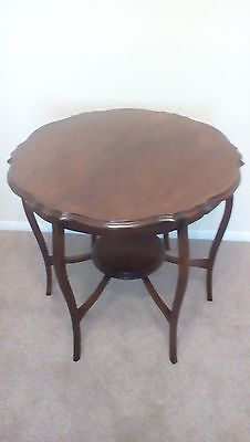 Antique, Solid Mahogany, Occasional Table.