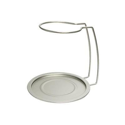 Vinotemp EP-RACK001 Epicureanist Decanter Drying Rack and Tray Silver